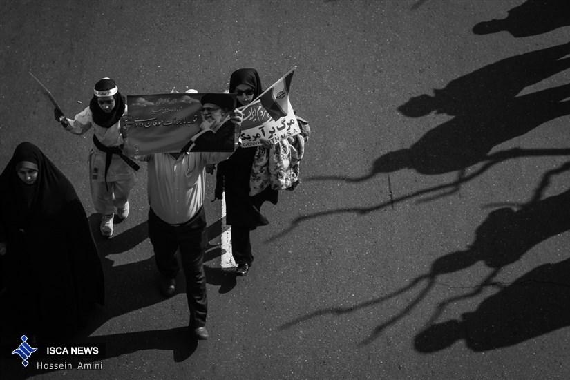 راهپیمایی پر شکوه 22 بهمن -4