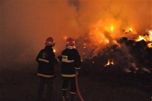 قهوه خانه سنتی آتش گرفت/ مرگ ۳ مرد و یک زن در میان آتش