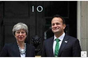 دیدار می با رهبر ایرلند در ایرلند شمالی
