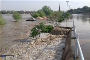 آبگرفتگی معابر و سیلاب ناگهانی/ بارش  باران و تگرگ در برخی مناطق
