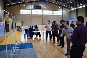 مسابقات دارت و پرتاب بسکتبال ویژه استادان و کارکنان در واحد بندرگز برگزار شد.
