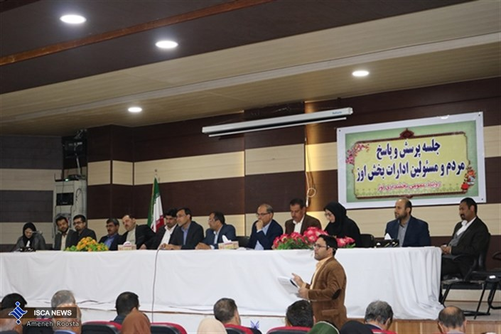 در پاسداشت دهه فجر، تالار فردوسی دانشگاه آزاد اسلامی اوز میزبان مردم و مسئولان