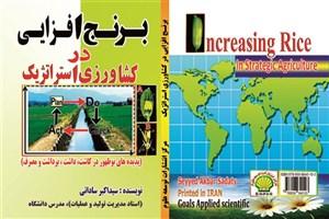 دانشجوی دانشگاه آزاد اسلامی واحد میانه  مولف کتاب برنج افزایی در کشاورزی استراتژیک