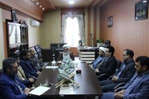 استقبال از دو شهید گمنام در  واحد رفسنجان