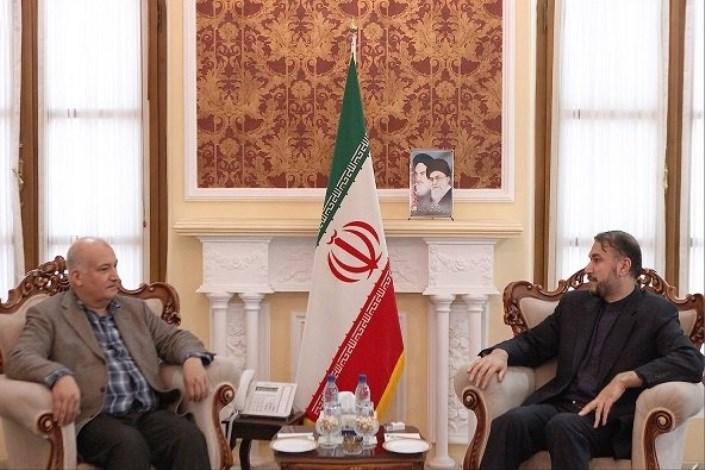 امیر عبداللهیان با رئیس حزب دموکرات آذربایجان دیدار و گفتگو کرد