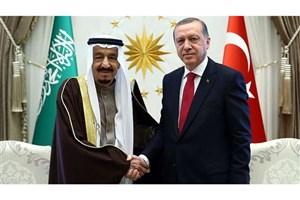 تاکید اردوغان بر اهمیت عربستان جهت حل بحران سوریه