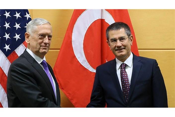 دیدار مهم وزرای دفاع ترکیه و آمریکا