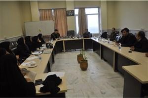 کارگاه «آشنایی با نحوه نگارش طرح درس» در واحد علی آباد کتول برگزار شد