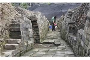 کشف علائم و امضای سنگتراشان در معبد آناهیتا