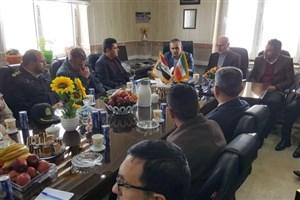 برگزاری نشست سرکنسولگری ایران در اربیل عراق با فرمانداران شهرستان مرزی سردشت و قلعه دیزه