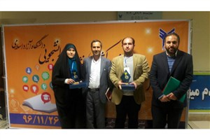 کسب دو رتبه برتر از سوی دانشجویان واحد اردبیل در  جشنواره نشریات کشور