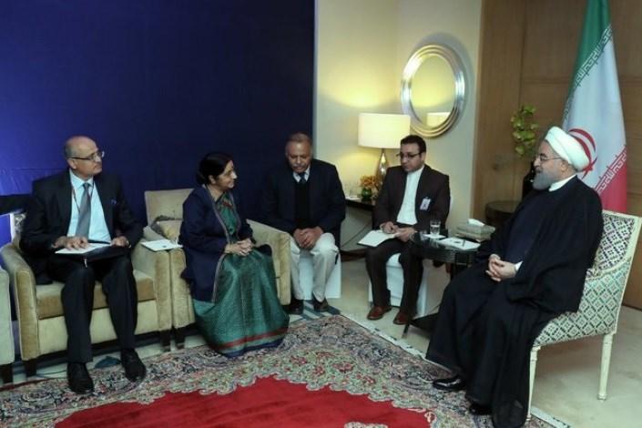 ایران برای توسعه روابط همه جانبه با هندوستان، محدودیتی قائل نیست