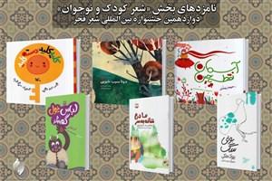 معرفی نامزدهای بخش کودک و نوجوان جشنواره شعر فجر