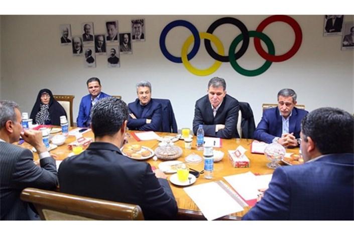 تفاهمنامه همکاری بین کمیته  ملی المپیک و سازمان زیباسازی منعقد شد