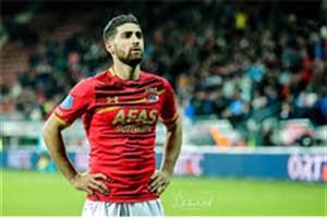 باشگاه آلکمار: جهانبخش امشب به همراه تیم ملی ایران مقابل تونس بازی میکند