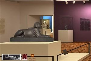 آثار نمایشگاه موزه لوور به ایران رسید