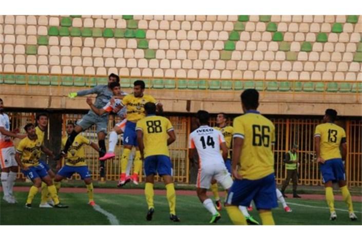 هفته بیست و چهارم لیگ دسته اول فوتبال یرگزار شد