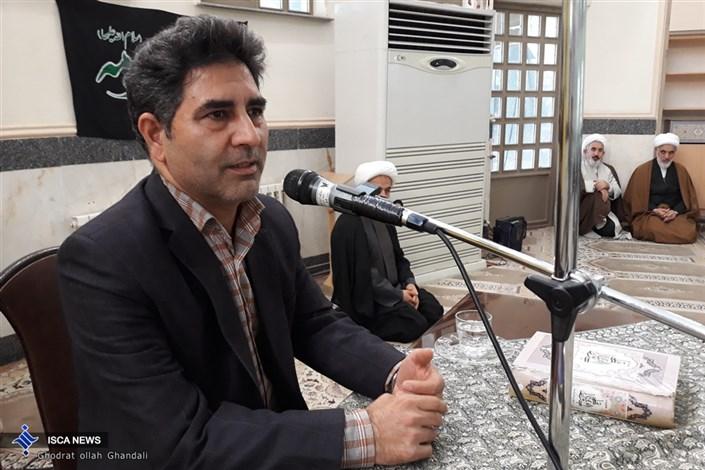 دکتر عبدالله خالصی دوست در واحد گرمسار