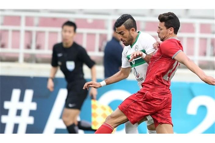 توقف ذوب آهن ایران مقابل لوکوموتیو در نیمه اول