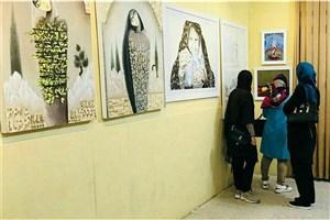 برپایی نخستین نمایشگاه طراحی و آثار نقاشی دانشجویان واحد علی آباد کتول