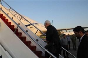 ظریف، مسکو را به مقصد تهران ترک کرد