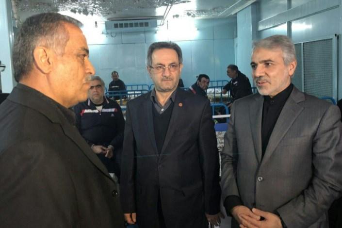 سخنگوی دولت از مجتمع توانبخشی معلولان ذهنی تهران بازدید کرد