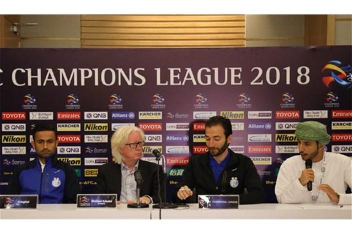 شفر:بازی در تهران برگزار می شد 80هزار نفر به ورزشگاه می آمدند/تمرکزمان روی خودمان است نه بازیکنان گران الهلال