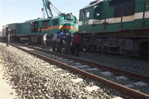 خروج قطار باری از ریل خسارتی نداشته است/ مشکلی برای تردد قطارها وجود ندارد