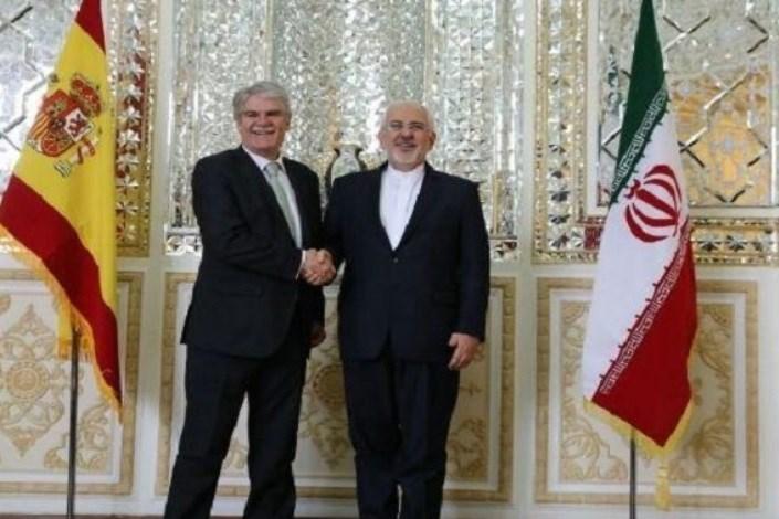 وزیر امور خارجه اسپانیا با «ظریف» دیدار و گفتگو کرد
