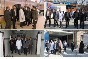 دستور معاون درمان برای تامین تجهیزات مورد نیاز  بیمارستان حضرت فاطمه الزهرا(س) رباط کریم