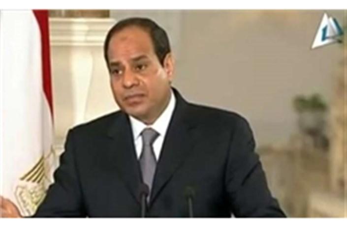 دفاع السیسی از توافق گازی با رژیم صهیونیستی