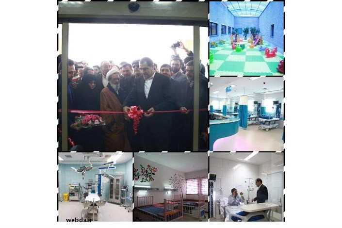 بیمارستان 174 تختخوابی منظریه خمینی شهر به بهره برداری رسید
