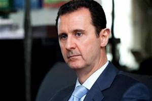 دیدار بشار اسد با فرستاده ویژه پوتین