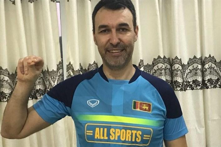 مربی پیشین والیبال ایران، سرمربی سریلانکا شد