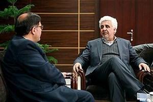 دیدار رئیس واحد تویسرکان با دکتر رهبر رییس دانشگاه آزاد اسلامی