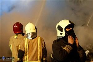 ۳ نفر توسط آتشنشانان همدانی نجات یافتند