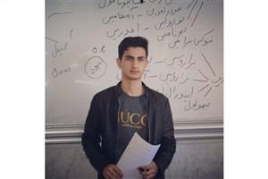 کسب رتبه دوم مسابقه عکاسی استان  از سوی دانشجوی واحد بندرگز