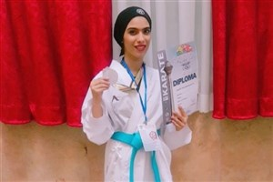 Zahedan SAMA IAU Student Ranks 2nd in 2018 Asia Karate C'ships