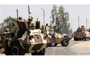 ارتش مصر: 105عنصر تکفیری را به هلاکت رساندیم