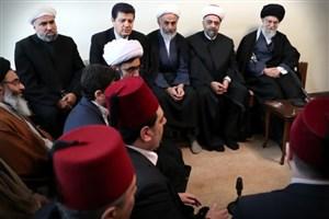 وزیر اوقاف سوریه و هیأت همراه با رهبر انقلاب دیدار و گفتوگو کردند