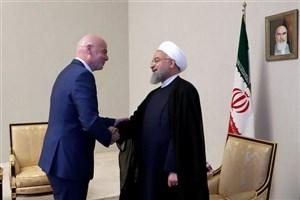 اینفانتینو: میزبانی مشترک ایران در جام جهانی 2022؟ شاید!