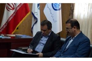 امضای تفاهمنامه علمی پژوهشی بین واحد بوشهر و شرکت آب و فاضلاب