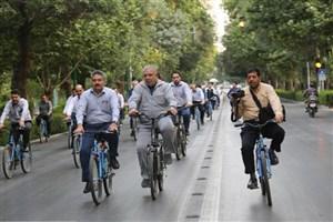 همایش دوچرخه سواری دانشگاهیان استان تهران تمدید شد