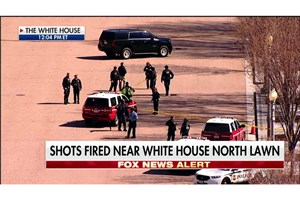 تیراندازی در نزدیکی کاخ سفید
