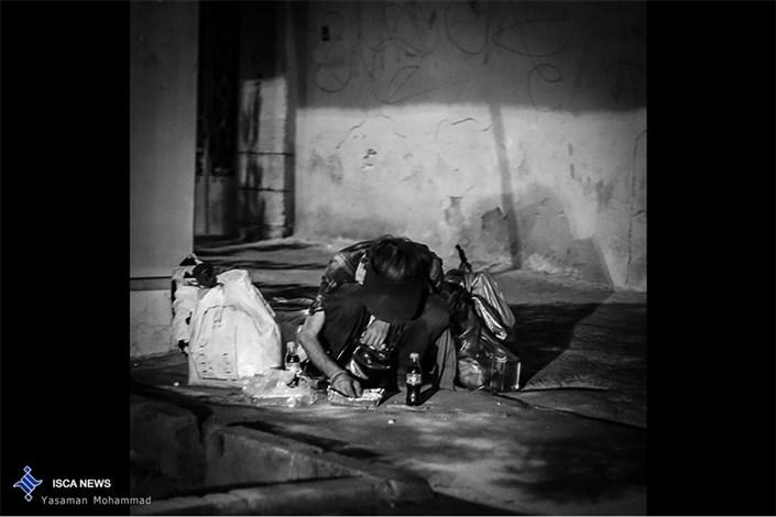 بی خانمان  در شوش