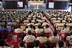 دهمین جشنواره جوان سرباز وزارت دفاع برگزار شد