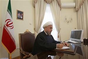 روحانی قانون بودجه سال ۱۳۹۷ را به سازمان برنامه و بودجه ابلاغ کرد