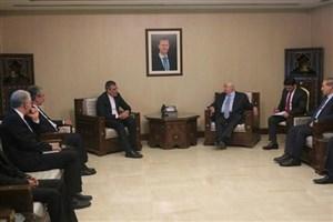 آخرین تحولات روند گفتگوهای سیاسی صلح سوریه مورد بررسی قرار گرفت