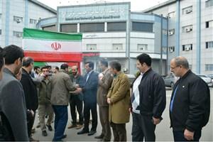 دانشجویان دانشگاه آزاد اسلامی واحد بندر انزلی به مناطق عملیاتی جنوب کشور اعزام شدند