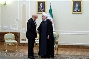 وزیر امور خارجه فرانسه با «روحانی»دیدار و گفتگو کرد